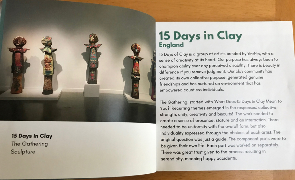 15 days in clay arts together